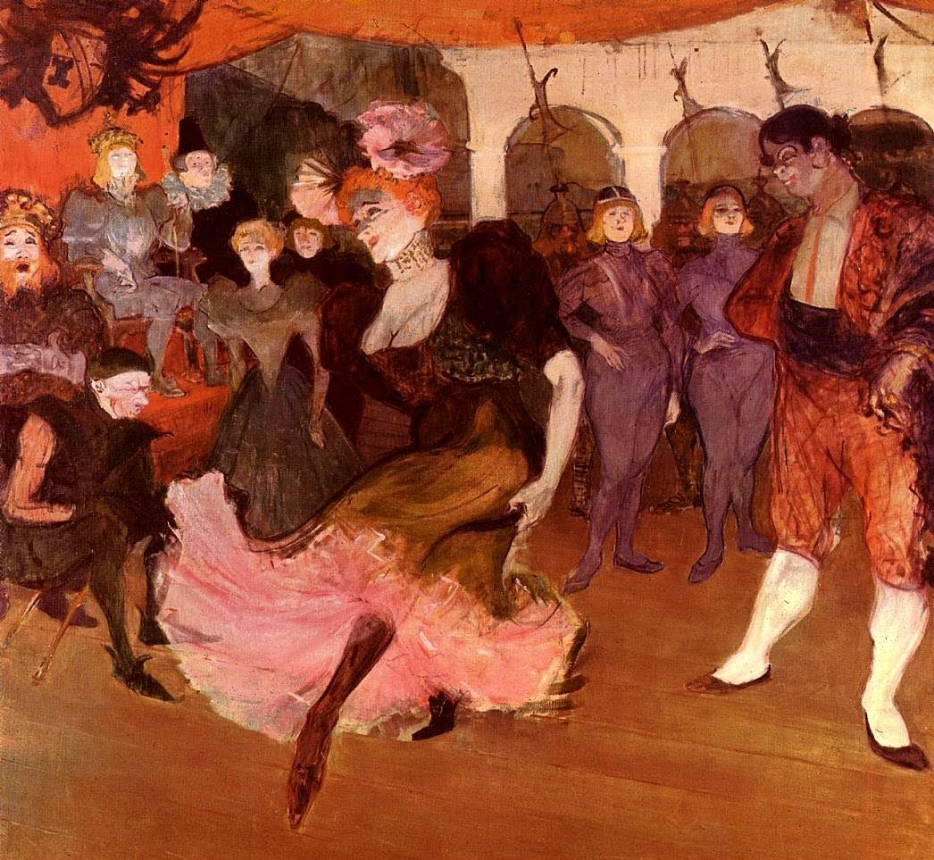 Antonio Vivaldi - Concerto In A Minor Fl, No.176 (Art by Toulouse-Lautrec)