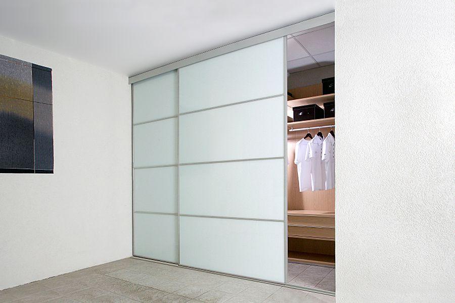 Bust Of White Sliding Closet Door Options