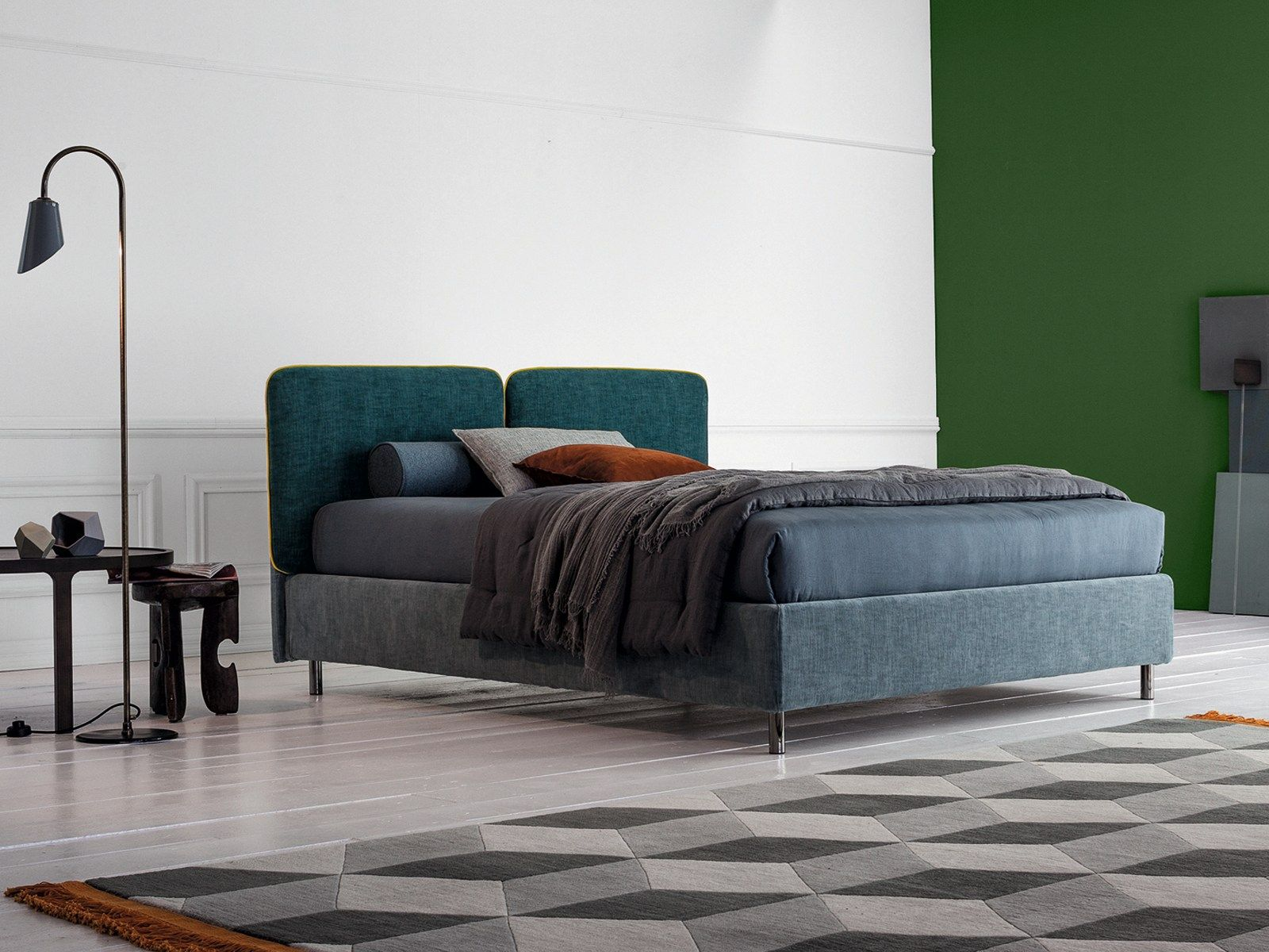 FRICK, IL NUOVO LETTO TESSILE TWILS | Bedrooms - Zona Notte ...