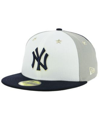 6a9394cbc2a New Era New York Yankees All Star Game Patch 59FIFTY Fitted Cap - Blue 7 3 4