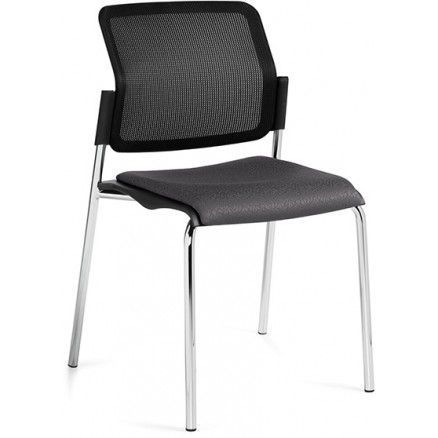 global sonic 6509mb stacking mesh back chair available for online