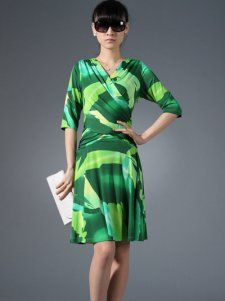 Enerald Green Cross Bodice Dress from Petunias of Naples...$209.99!!!