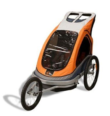 Xterra Ogden Convertible Bike Trailer And Stroller Amazon Baby