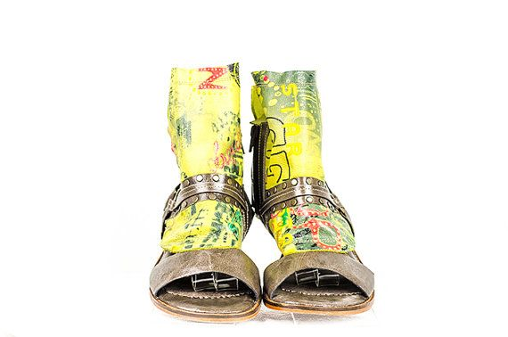 Siga Shoes Athena Mural by SIGAShoes1 on Etsy