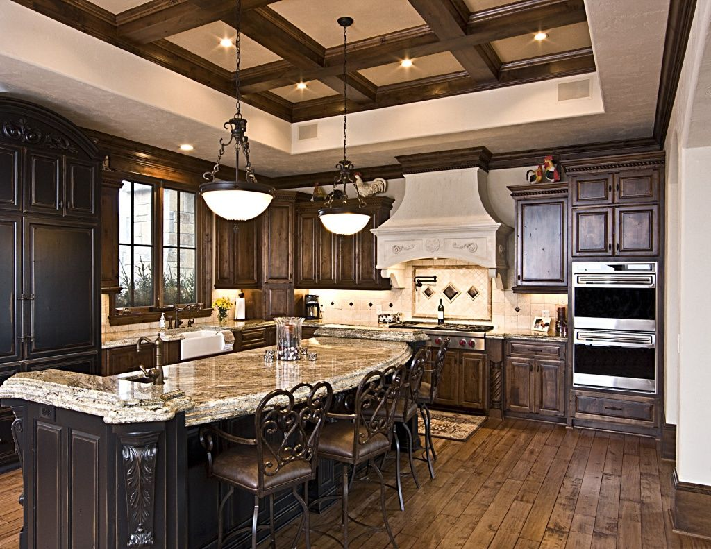 Kitchen Design And Remodeling Inspiration Coffered Ceilings In Kitchen  Kitchen Ideas  Pinterest Decorating Inspiration