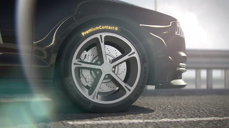 Nouveau pneu Continental Conti Premium Contact 6 (avec