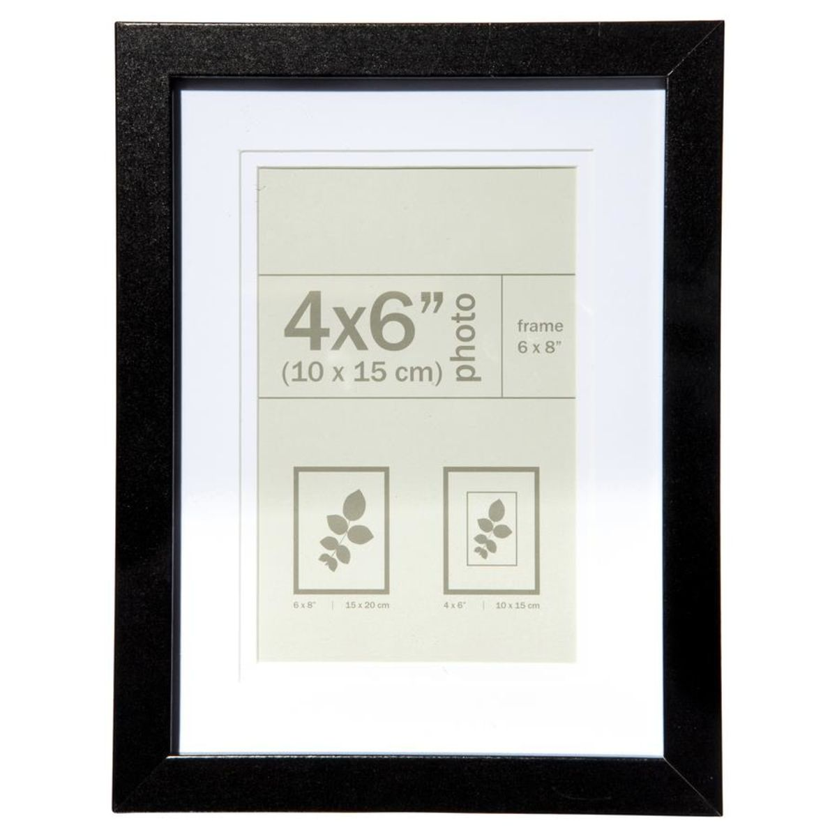 Nice Photo Frame 4in X 6in 10cm X 15cm Black Frame Photo Frame Poster Frame