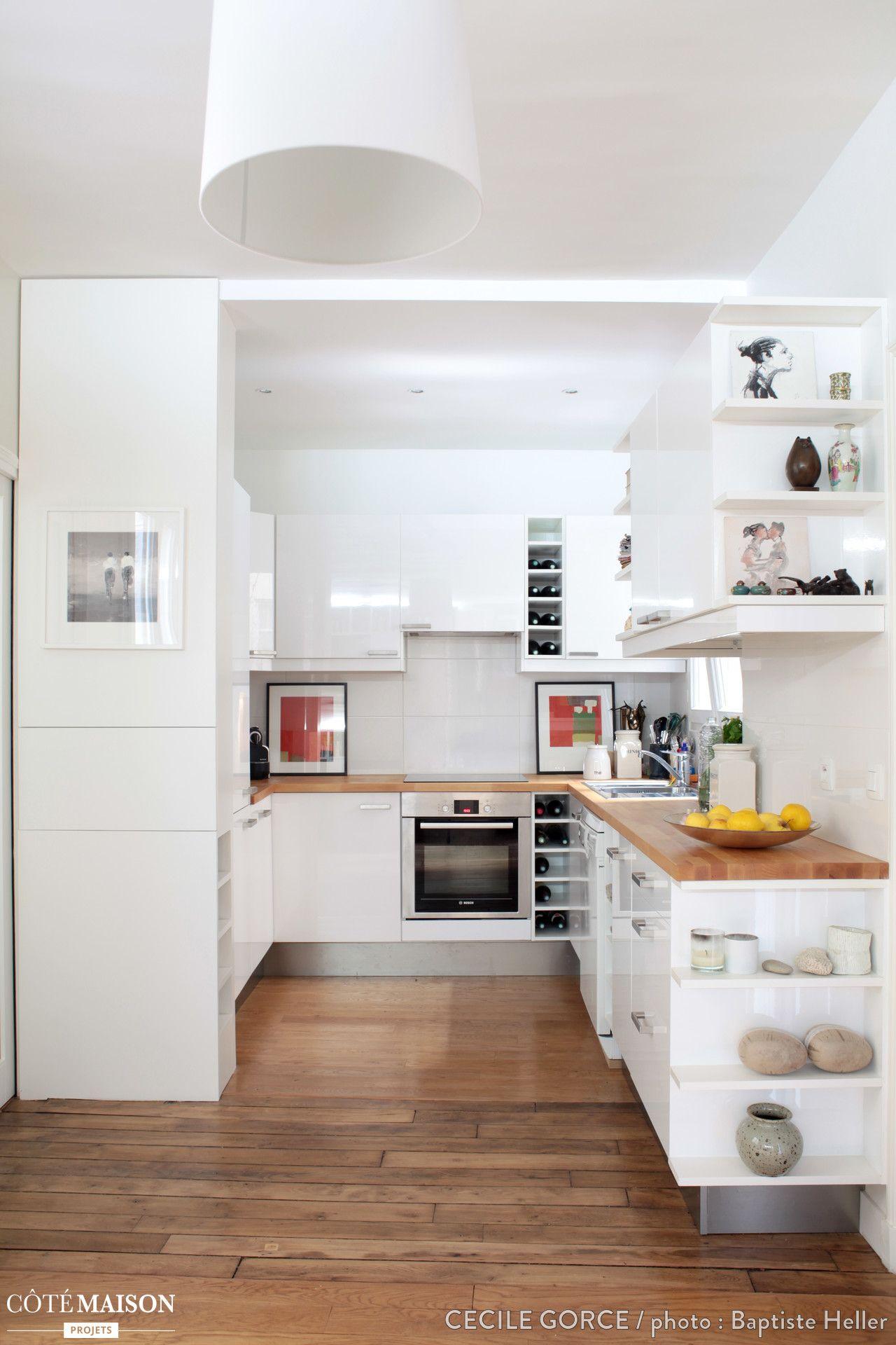 R novation compl te d 39 un appartement paris c cile gorce - Architecte interieur paris petite surface ...