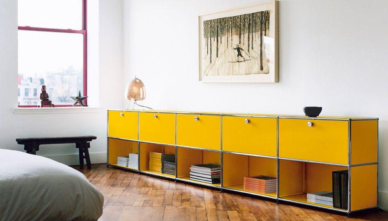 HALLER SYSTEM CABINETS by USM   USM Modular Furniture   Pinterest ...