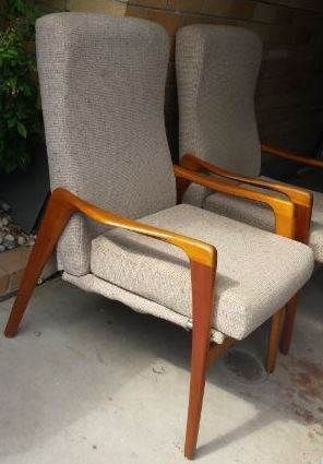 7e8696ebac65 1 x Retro Fler TV Chair - Mid Century Danish Parker Style