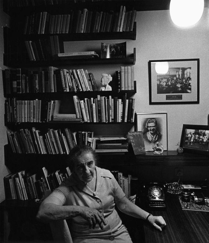Golda Meir, Jerusalem, Israel, 1970 - Arnold Newman