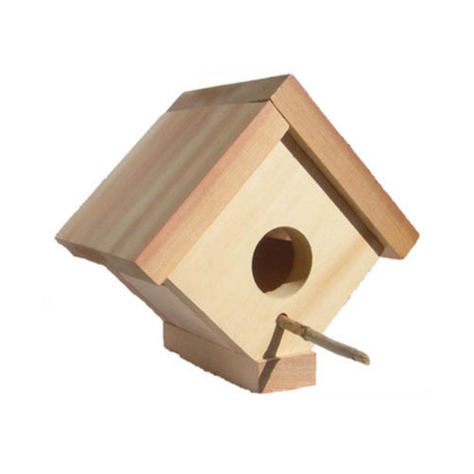 All Things Cedar Birdhouse 5w In Bird Houses Bird House Joinery Design