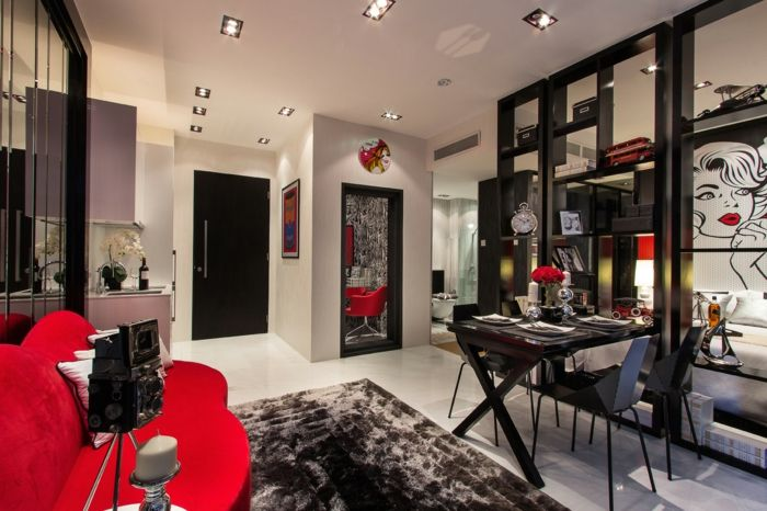 1001 ideas de interiores encantadores en estilo vintage for Diseno de interiores en los anos 90