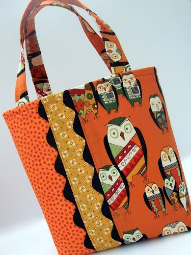"""Just Another Hang Up: Ric-Racked Halloween """"Trick or Treat Bag"""""""