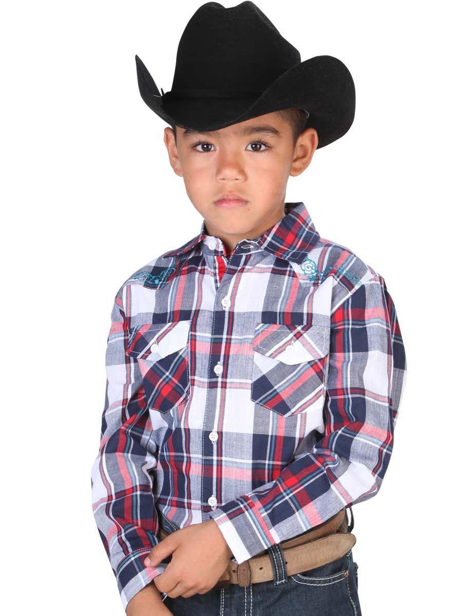 9bc8f02836 33167 Camisa Vaquera Niño El General