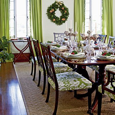 New Home With Old World Style Green Dining RoomWhite