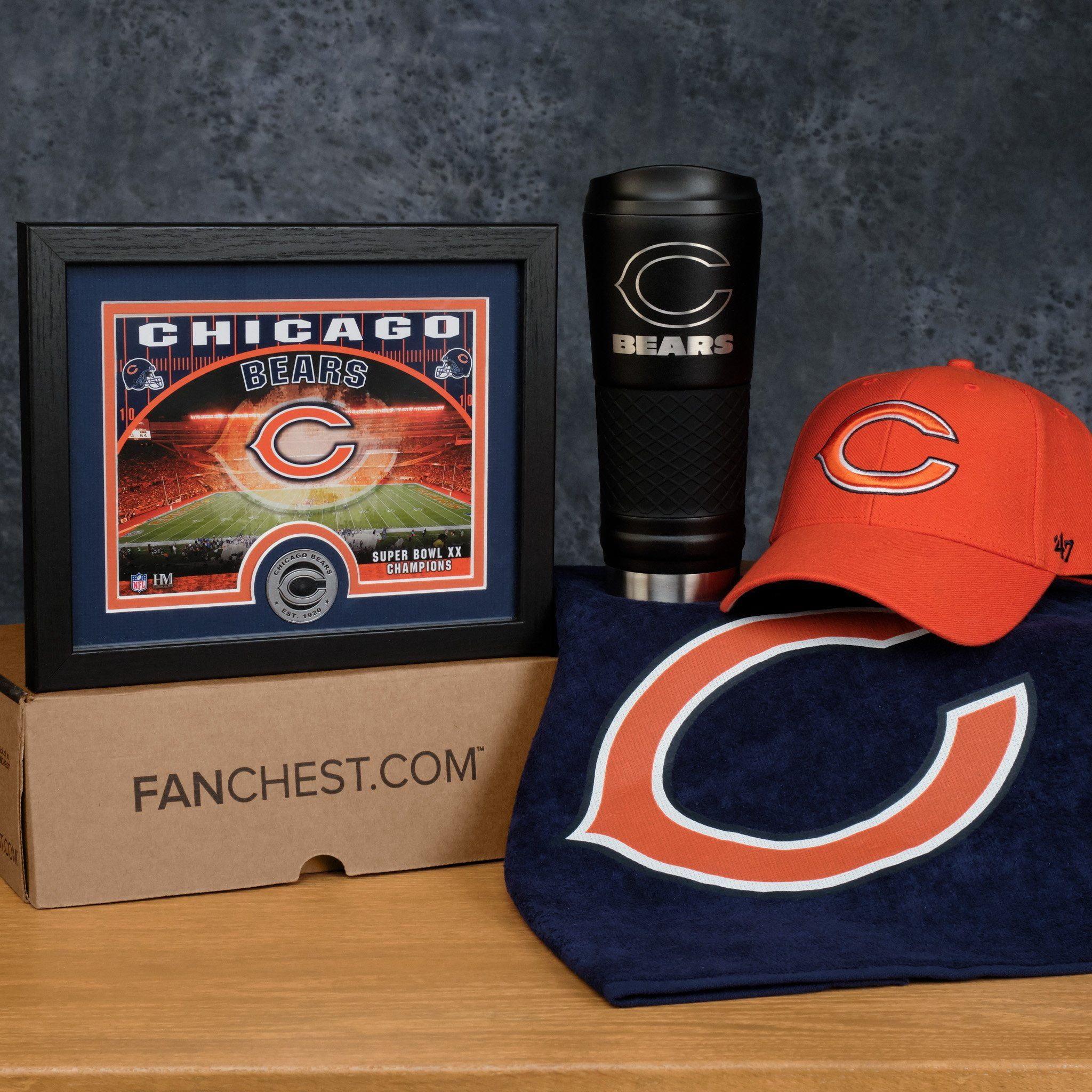 Chicago bears fanchest deluxe chicago bears gifts for
