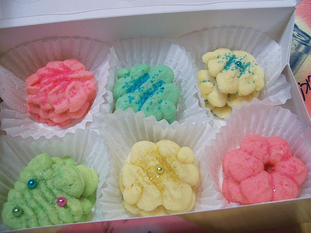 Spritz Recipe From Betty Crocker S Cooky Book 1 Cup Butter 2 3 Cup