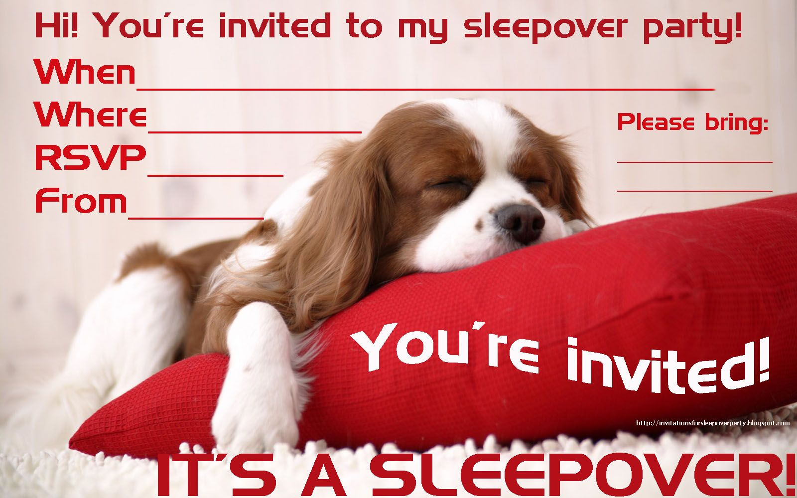 girl sleepover party invitations - Google Search | Frankie\'s party ...