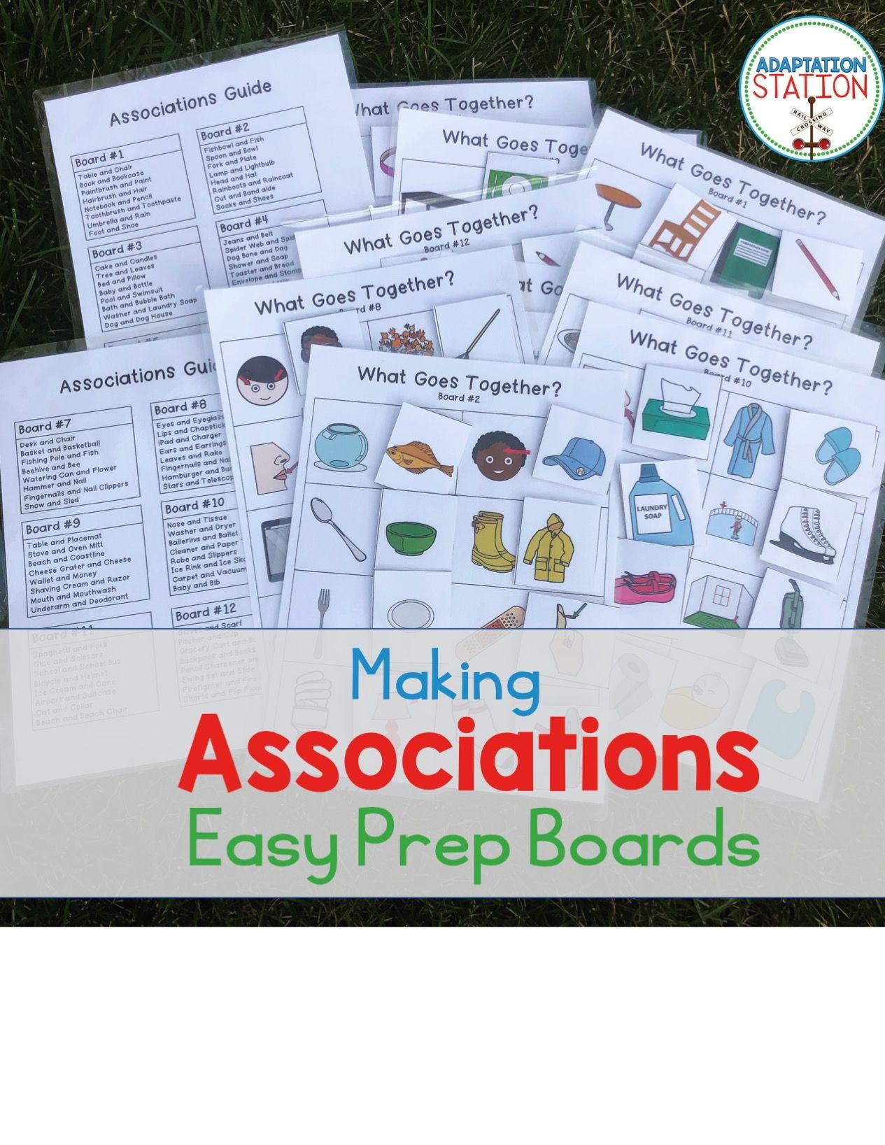 Associations Easy Prep Boards