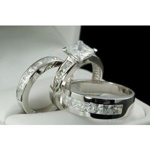 Wedding Favors Ring Sets For Men And Women Inexpensive Accessories Platinum Jewel Design Great Incredible Awesome Matching Bands