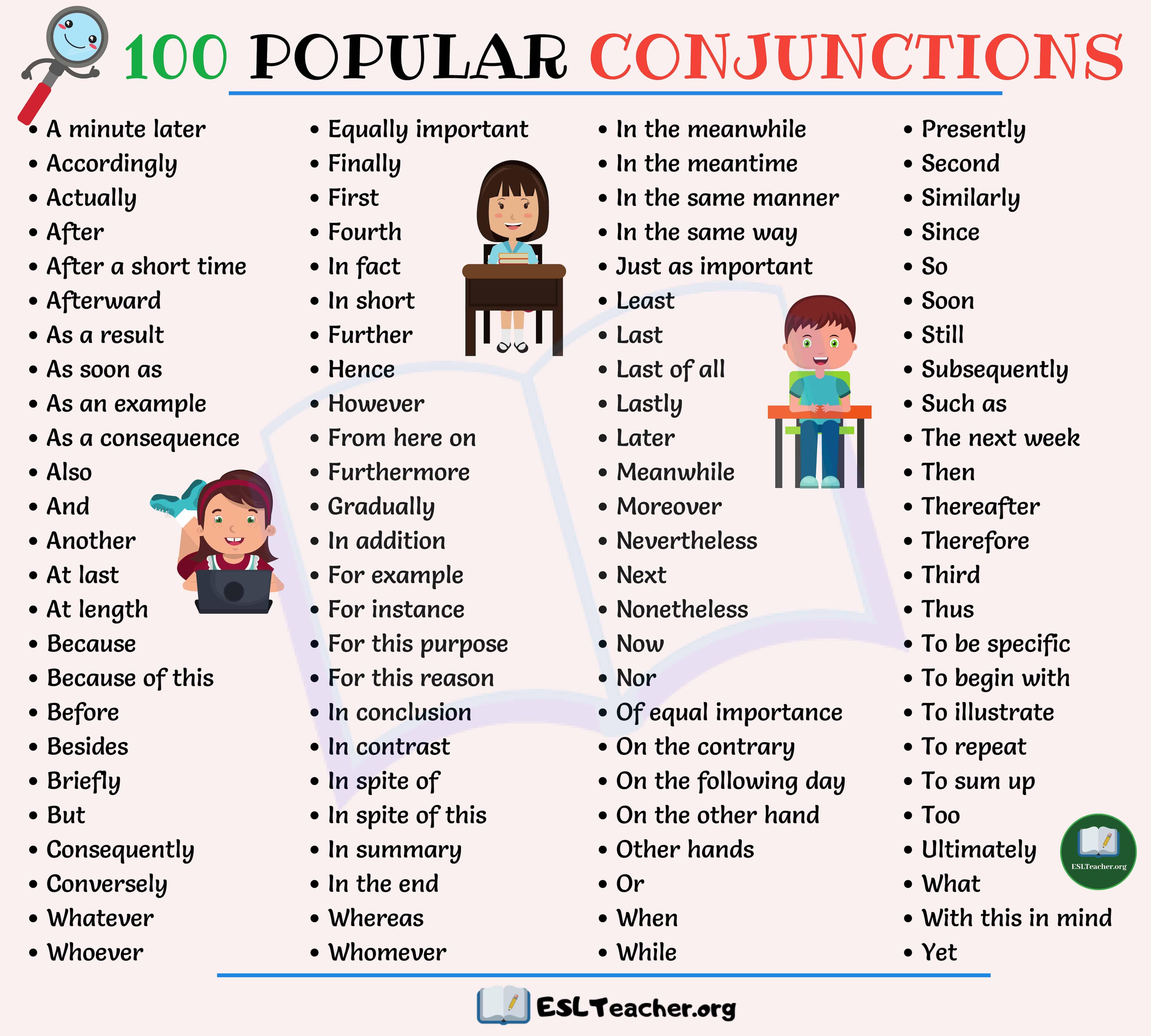 medium resolution of Conjunctions Worksheets Pdf