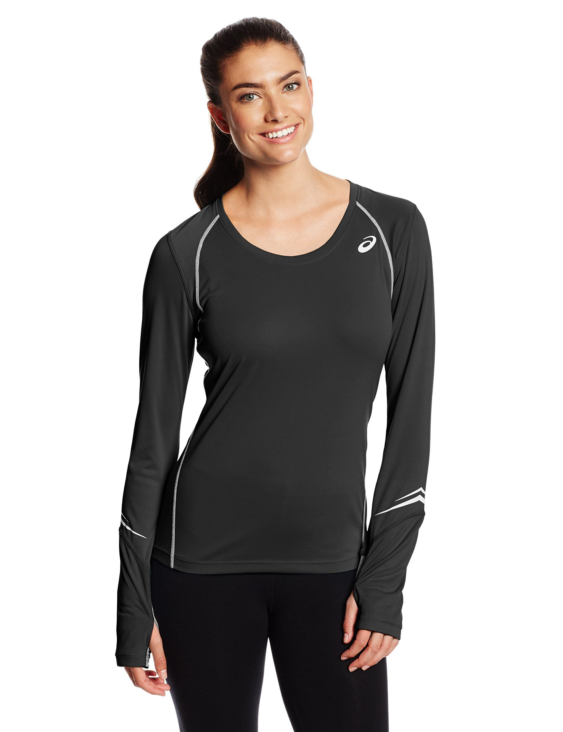 0adbcd0e71f0 Asics Women s Lite-Show High Visibility Favorite Long Sleeve Top ...