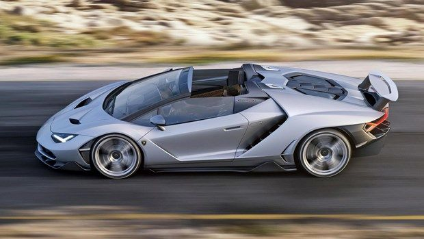 2016- Lamborghini Centenario Roadster - 760 beygir, 350 kilometre hız