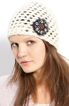 I love this Juicy Couture 'Sequin Skully' Cap (via Shop It To Me)