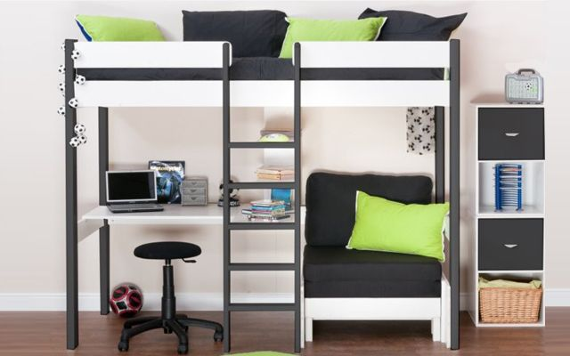 Decofilia blog camas en alto para espacios peque os - Camas para ninos pequenos ...