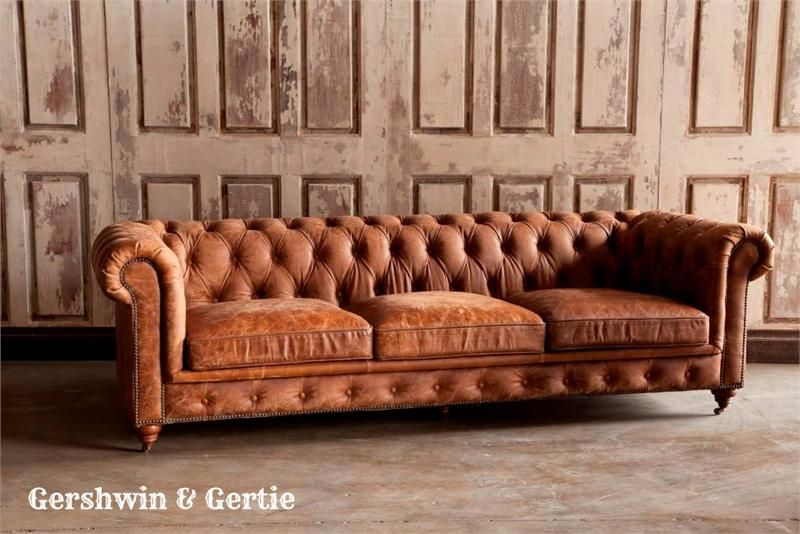 Chesterfield Leather Library Sofa: Itu0027s On Sale For Thanksgiving! Huge  Savings!!!