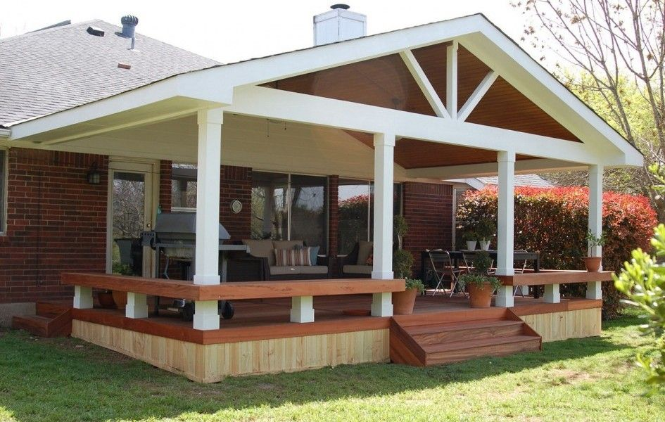 Inexpensive Porch Addition