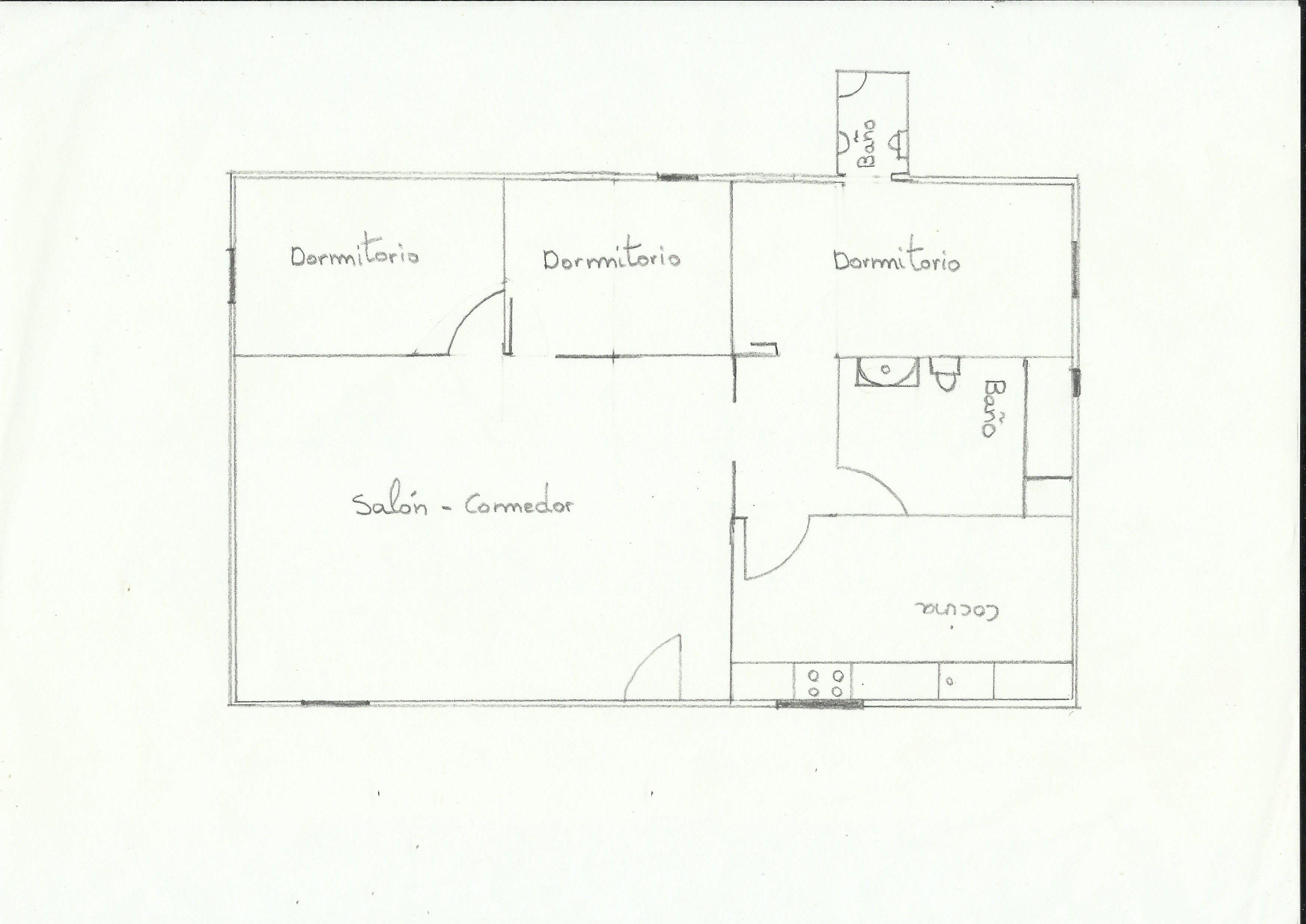 Dibujar plano de la casa bloque i tarea 1 en este for Realizar planos