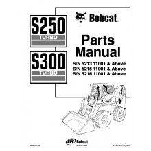 bobcat s250 turbo s300 turbo skid steer loaders parts manual pdf rh pinterest com Bobcat S300 Engine Heater S300 Bobcat Repair Manual