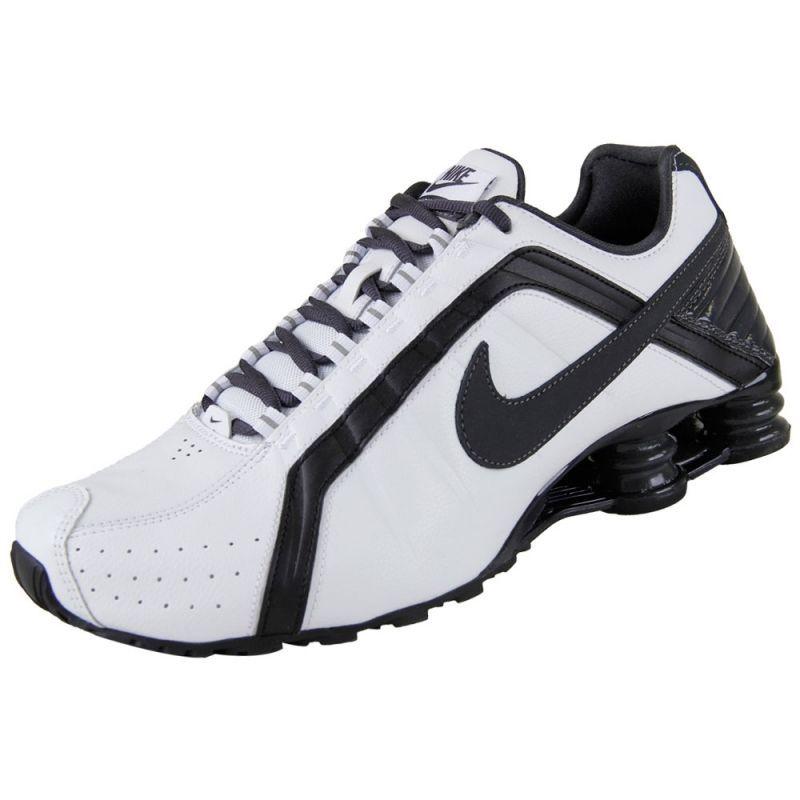low priced f0e52 b2cd8 NEW NIKE SHOX JUNIOR Black White MENS 8 Leather Limited NR  NikeShox   RunningCrossTraining