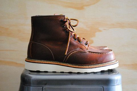 Red Wing Heritage 1907 Moc-Toe Boot Copper Rough