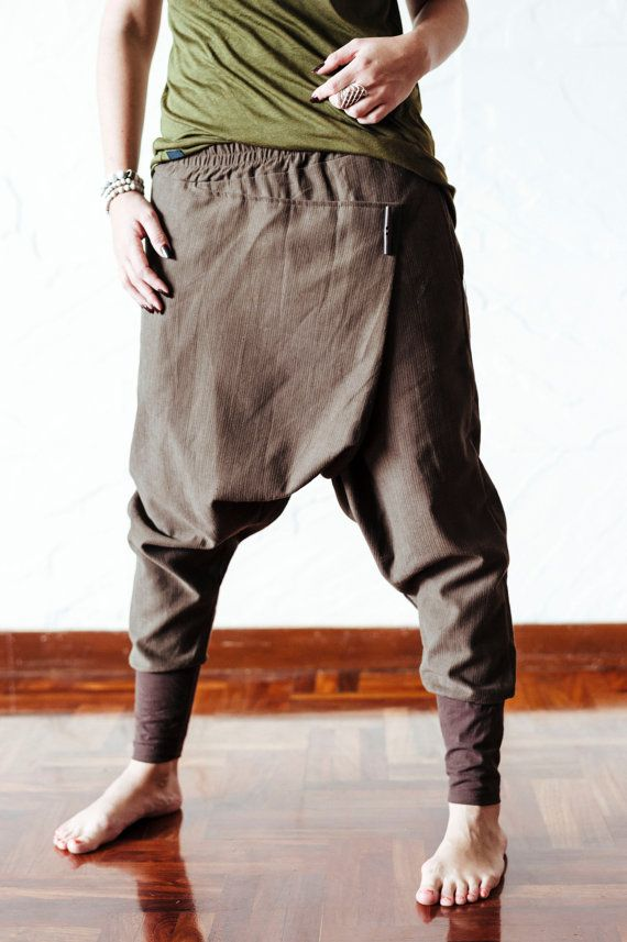 f238c1d6c21 Premium low drop crotch ninja pants   baggy harem by VALOdesigns. Find this  Pin and more on Men s Fashion ...