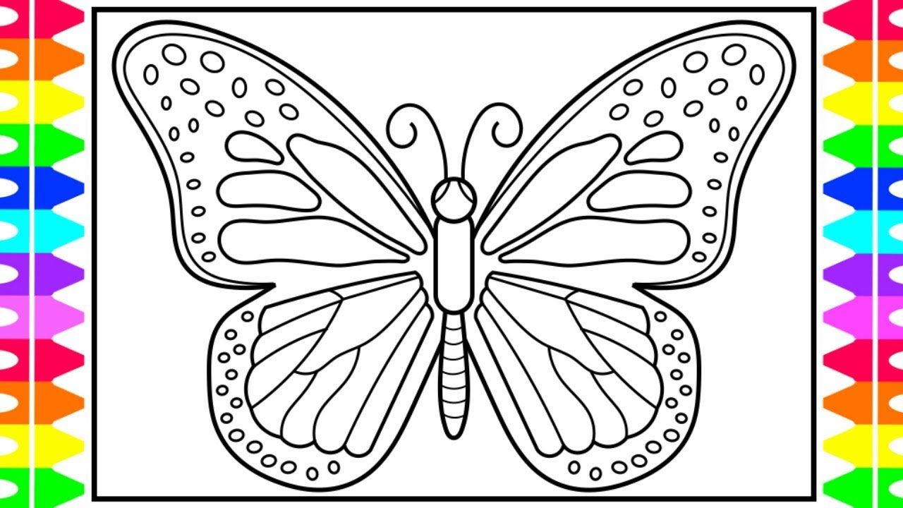 Butterfly Coloring Pages Color By Number In 2020 Butterfly Coloring Page Coloring Pages Frog Coloring Pages