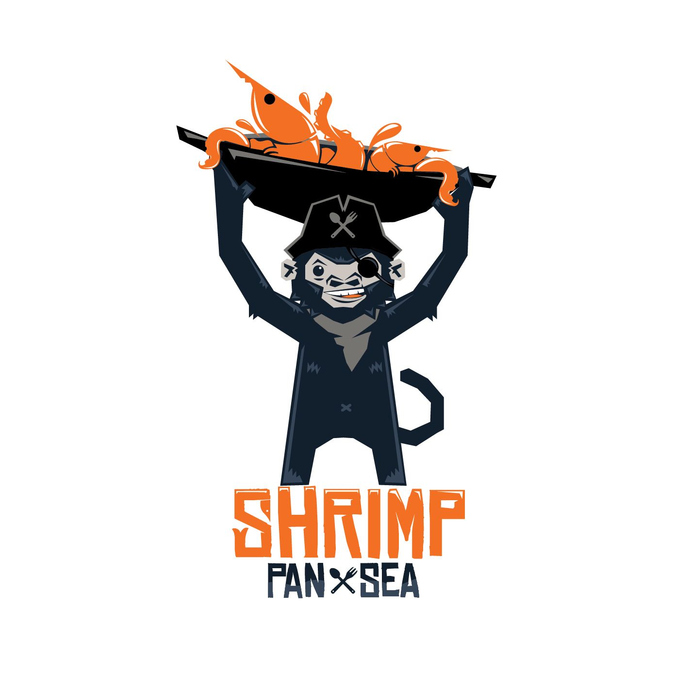 design for shrimp pan sea seafood restaurant logo design rh pinterest co uk shrimp logo psd shrimp mascot