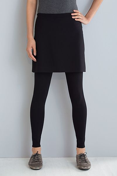 bf827d79134cff Ponte Skirted Leggings by F.H. Clothing Co. (Knit Leggings) | Artful Home