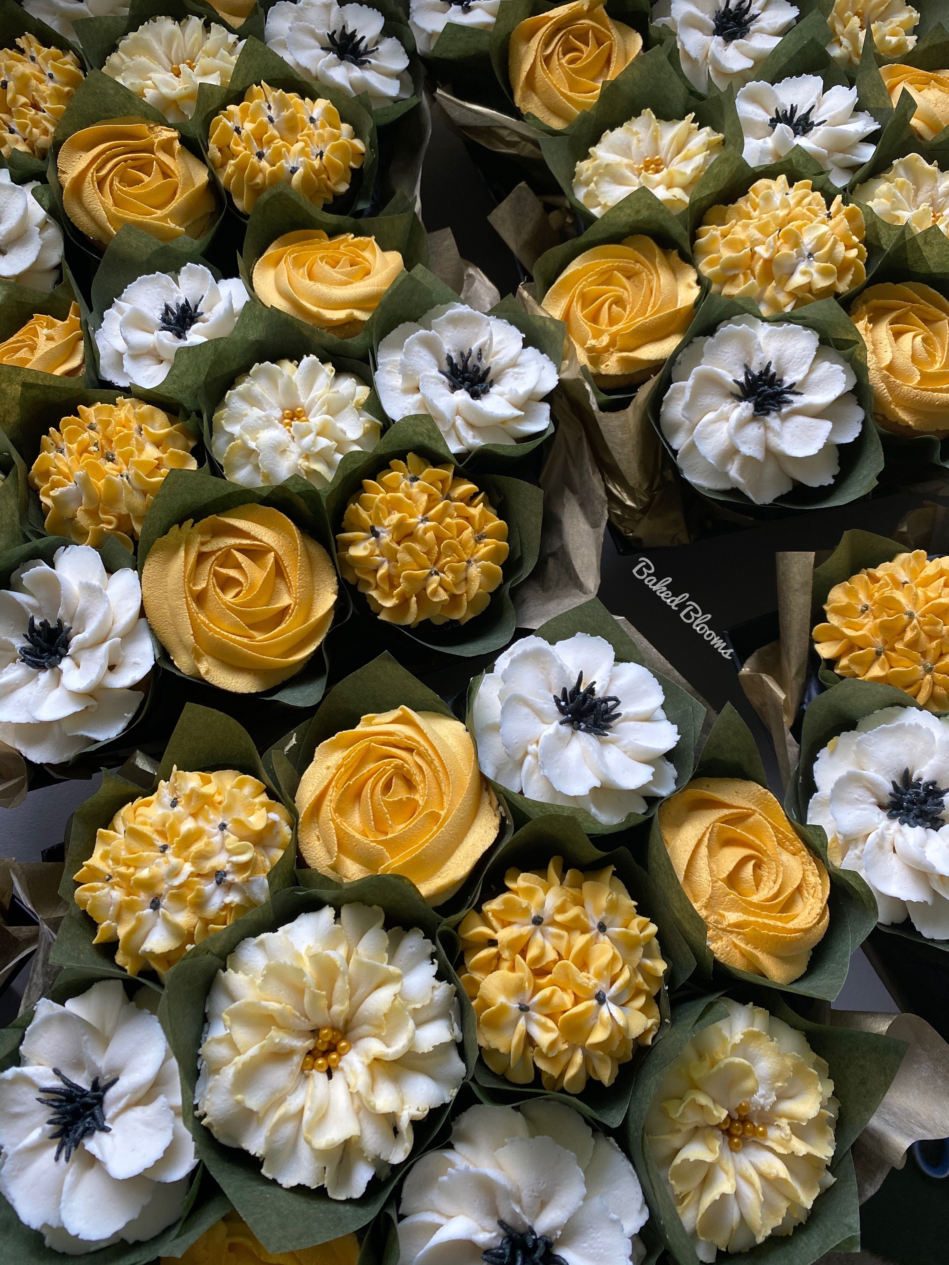 Baked Blooms Custom Cupcake Bouquets in 2020 Custom