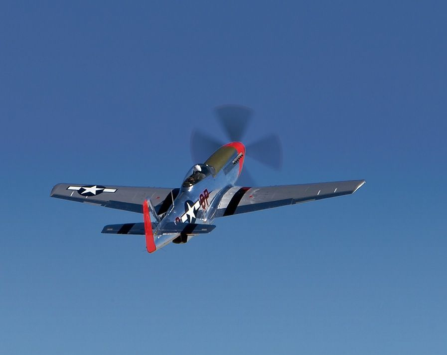 P-51s still flying in 2012. These machines are bound to eternity.