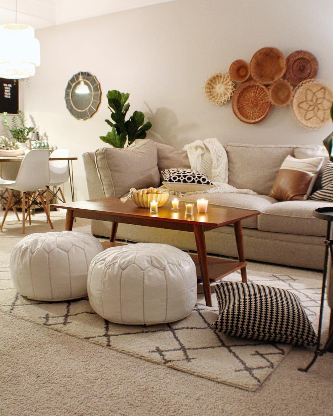 Poufs Couchtisch Kombi Interior Design Home Decor House Styles