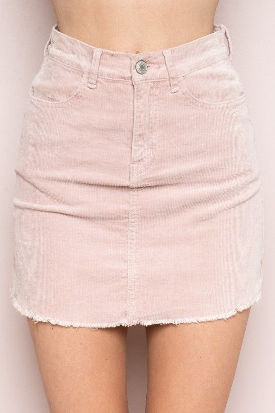 1c4a42fa43 Juliette Corduroy Skirt | Clothes | Corduroy skirt, Pink denim skirt ...