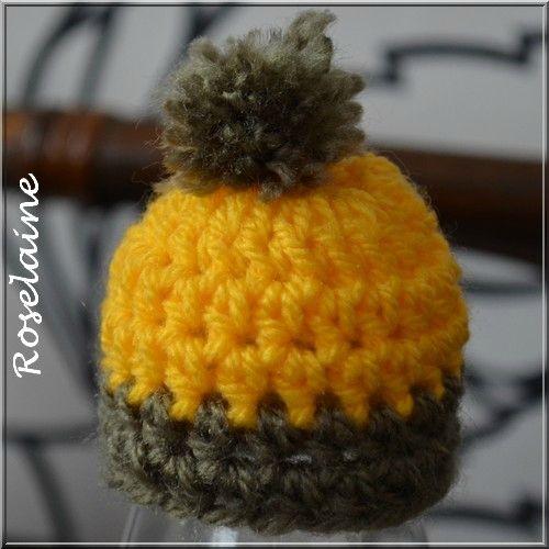 Bonnet crochet 032 Innocent Smoothie Hat