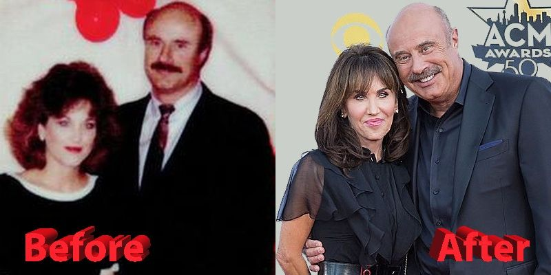 Dr  Phil and Robin McGraw Before and After | Celebrity