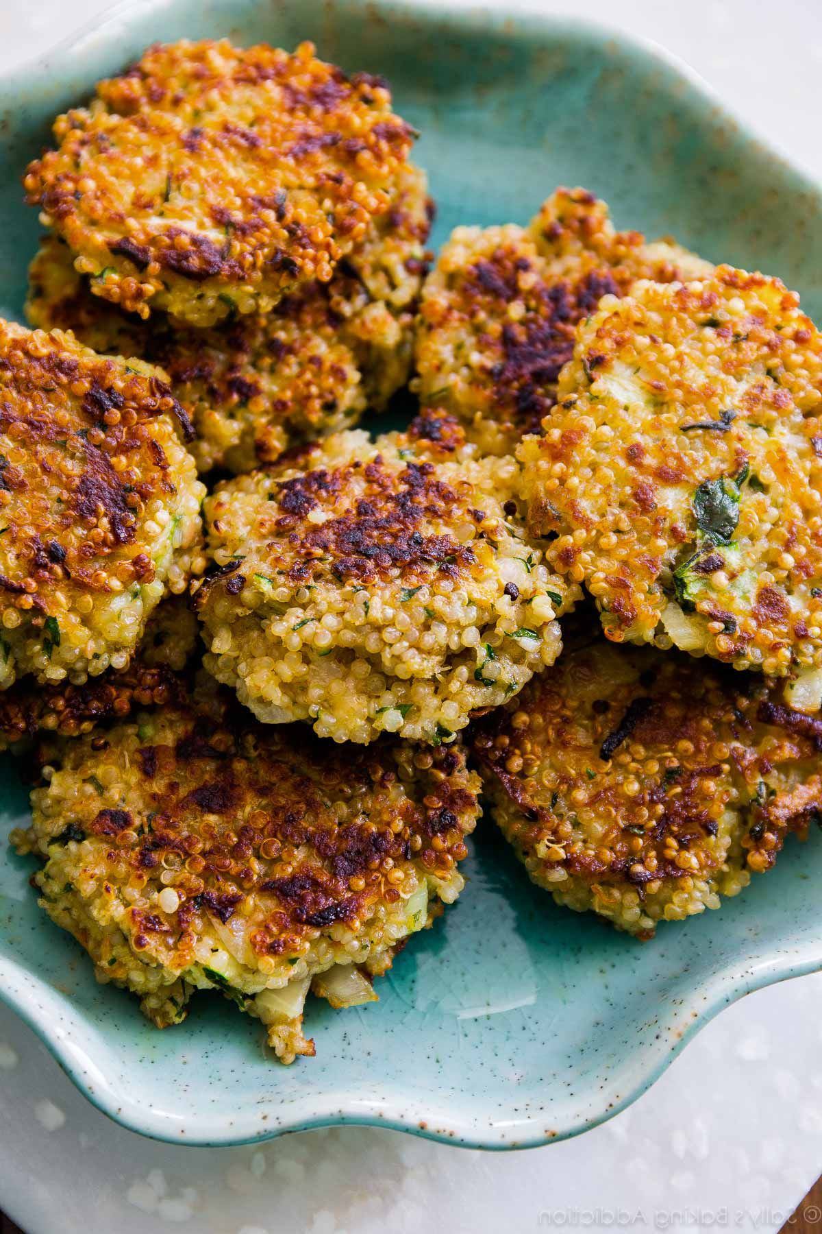 Receta de Hamburguesas de Quinoa en  B  Hamburguesas de quinoa Recetas de hamburguesas y Tortitas de quinoa