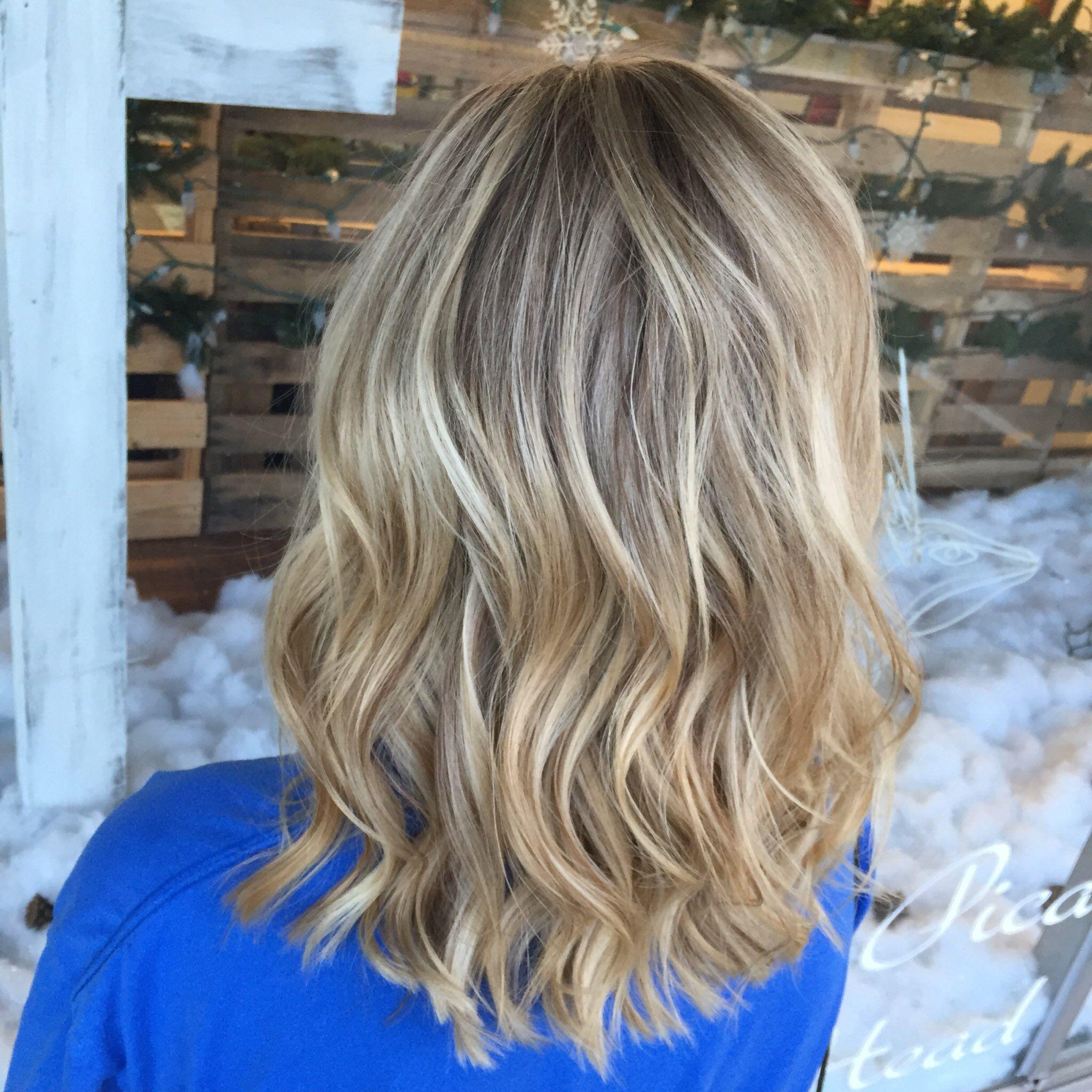 Highlights And Root Shadow Pjdoeshair Pj Does Hair Pinterest Pj