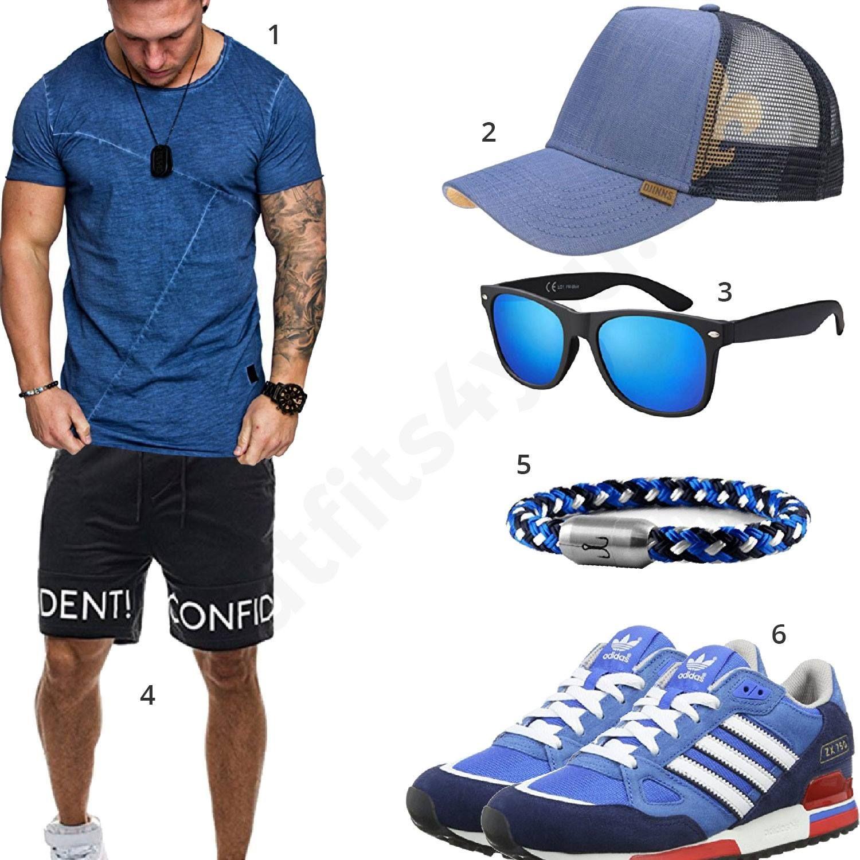 Blauer Sommer Style für Männer (m0337 | Fledge | Mens