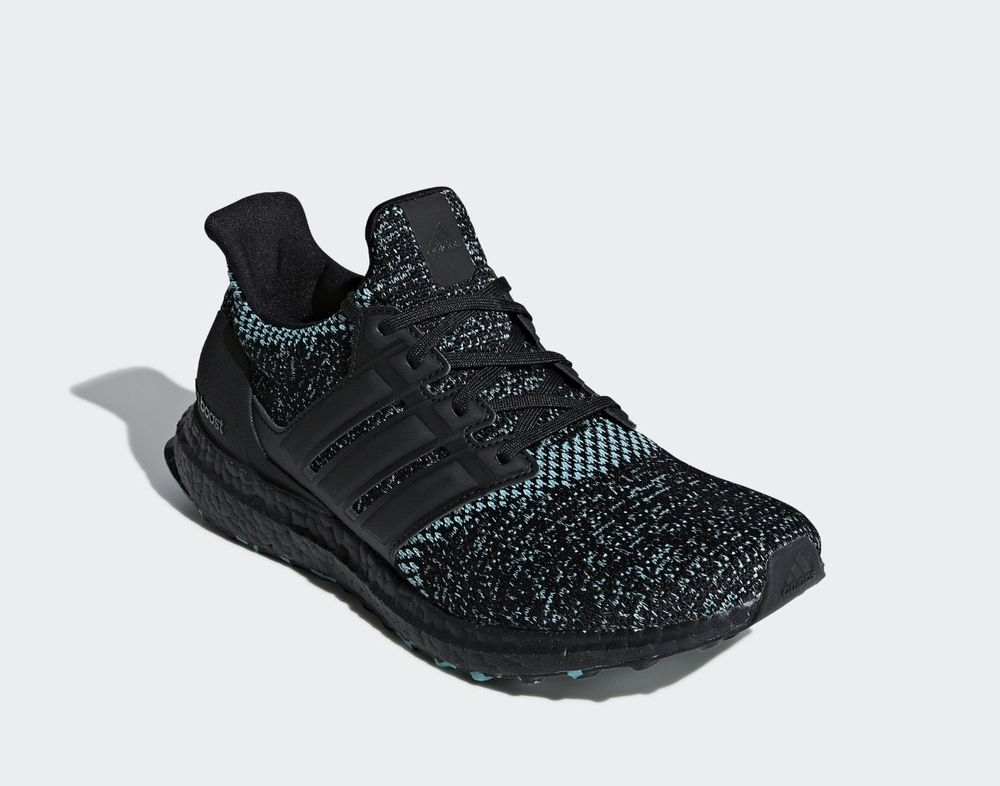 low priced 9fe4f 172aa Adidas ultraboost 4.0 core black true green Size 10 SOLDOUT on Adidas  website  fashion